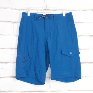 Patagonia Blue Board Shorts Surf Bathing Suit 33